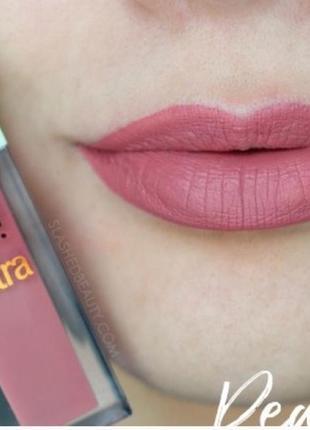 Жидкая помада pixi mattelast liquid lipstick оттенок  really rose2 фото