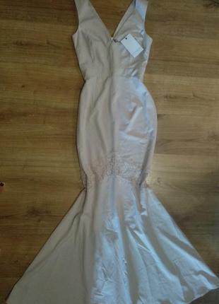 Платье в пол,длинное платье,свадебное платье