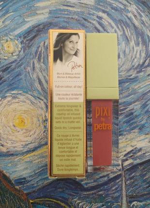 Жидкая помада pixi mattelast liquid lipstick оттенок  really rose5 фото