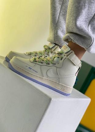 Nike air force кроссовки найк женские форсы аир форс кеды обувь взуття