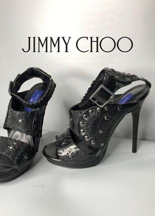Jimmy choo h&m босоножки кожаные на каблуке вечерние гладиаторы rundholz owens