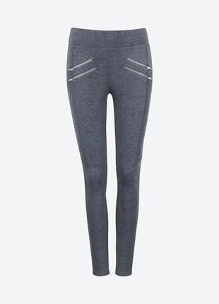 Стильные трикотажные штаны лосины от cubus s m сток