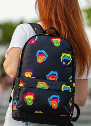 Стильный, яркий, повседневний, городской молодежный рюкзак