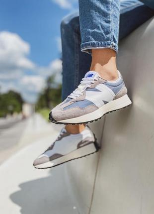 Кроссовки new balance 327 grey