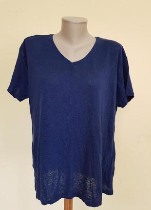 Лёгкая брендовая блузочка лен cubus