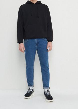 Крутые базовые мужские джинсы в трендовом цвете 100% коттон