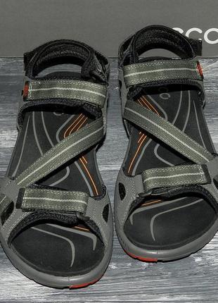 Мужские оригинальные, стильные невероятно крутые сандалии ecco terra sandal