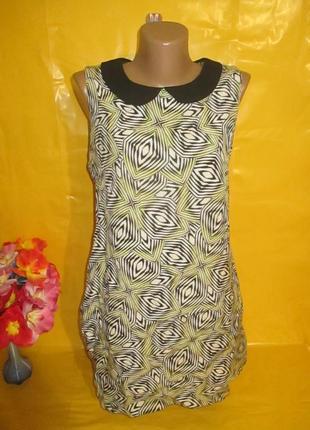 Очень красивое женское платье грудь 45 см dorothy perkins (дороти перкинс) рр 14 100% вискоза !!!!!!