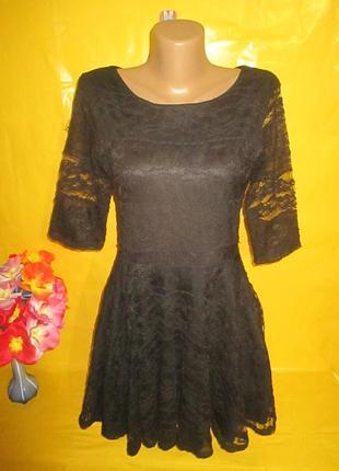 Очень красивое женское платье грудь 41-45 см river island (ривер айланд) рр 12 !!!!!!!