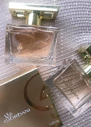 2 парфуми miss giordani oriflame