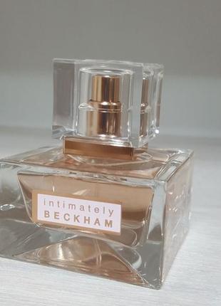 Туалетная вода духи парфюм парфуми intimately beckham 30ml
