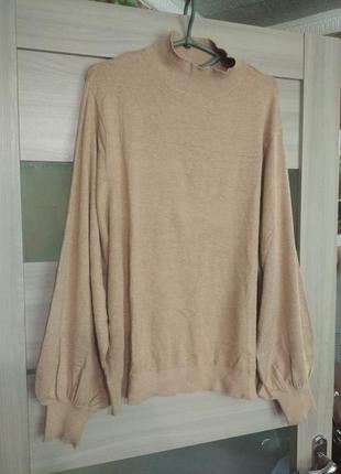 ❤️джемпер легкий свитер пуловер под zara оверсайз