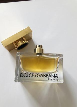 Dolce & gabbana the one/парфюмированная вода 75 ml (50)
