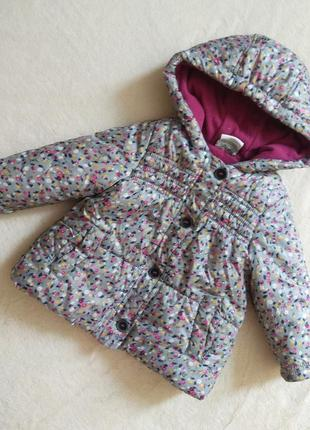 Куртка курточка на девочку 86 размер осень-весну