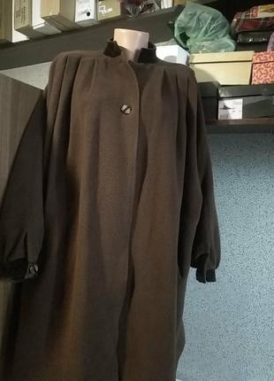 Пальто шикарное винтаж