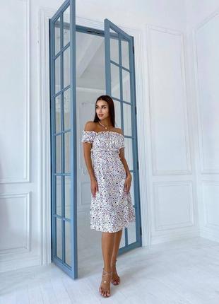 Платье длины миди ⭐s-m