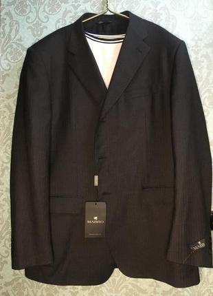 Mabro жакет пиджак блейзер в тонкую полоску люкс бренда