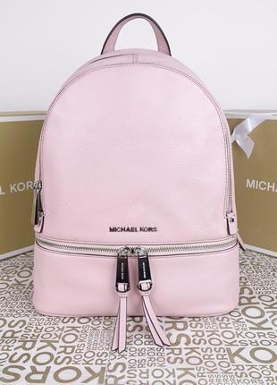 Кожаный рюкзак michael kors smokey rose медиум оригинал майкл корс
