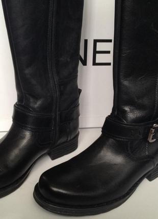 Зимние кожаные сапоги venezia
