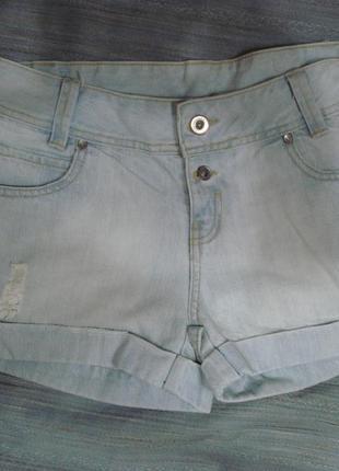 Классные джинсовые шорты р 6-8