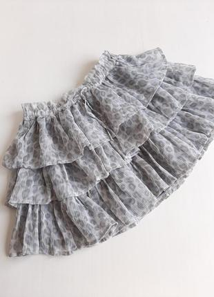 Летняя юбка на девочку 2-4 лет