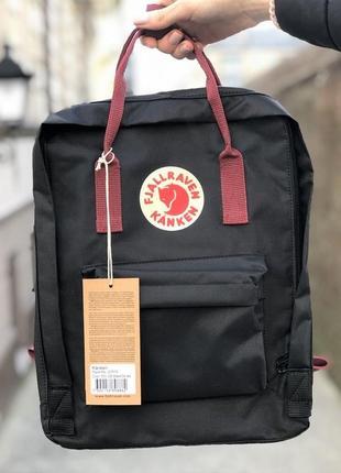 Рюкзак канкен классик черный /женский мужской / жіночий чоловічий портфель kanken classic