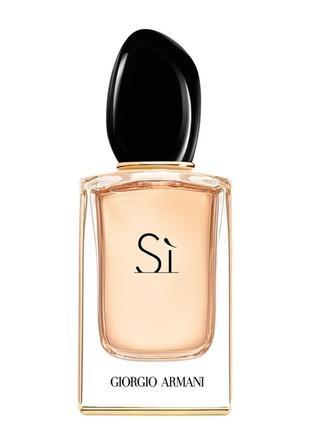 Оригинал парфюмированная  giorgio armani si eau de parfum 100 мл тестер новый парфюм