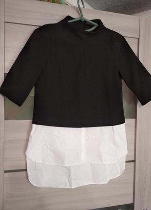 ❤️шикарная блузка обманка zara xs