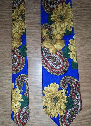 Фирменный галстук, шёлк