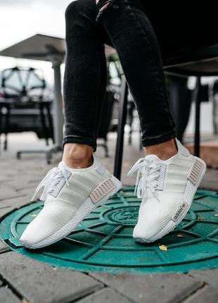 Adidas nmd r1 🍏 стильные женские кроссовки адидас нмд