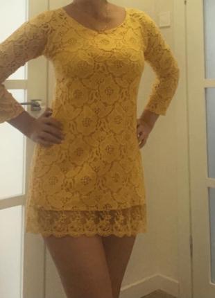 Платье туника. размер xs-s.