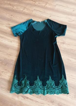 Платье нарядное разм 52-54