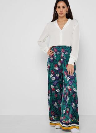 Блуза в бельевом пижамном стиле only