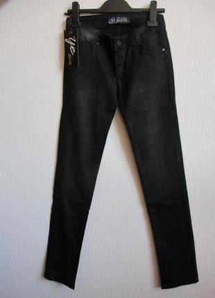 Sale -50%! котоновые джинсы в клетку