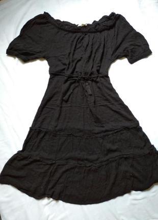 Платье натуральное вискоза