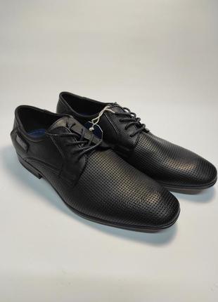 Туфли мужские tom tailor черные классика