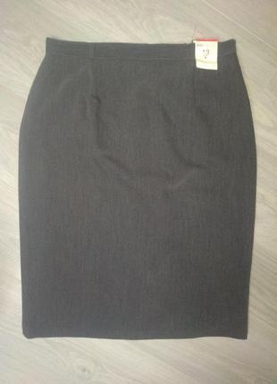 Прямая юбка миди