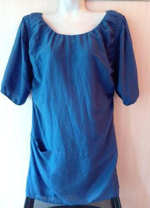 Туника блуза d.corp by espryt размер 46 хлопок шелк - лучшее для лета