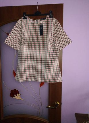 Трикотажная футболка кофта, новая