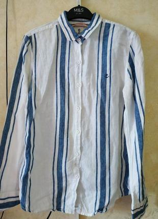 Рубашка 100 % лён.