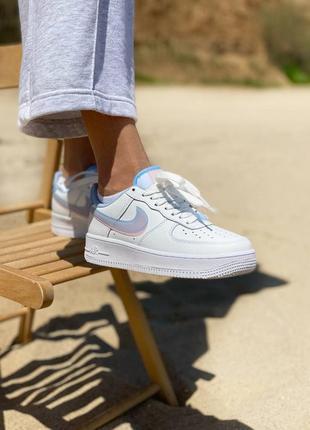 Nike air force white кроссовки найк женские форсы аир форс