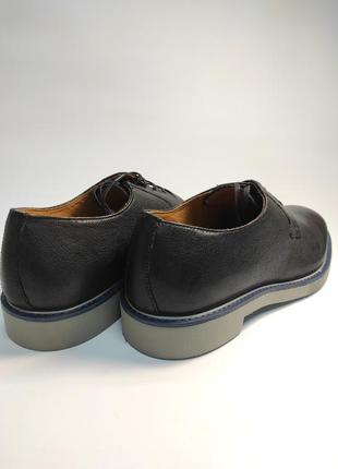Туфли кожаные geox черные туфлі шкіряні5 фото