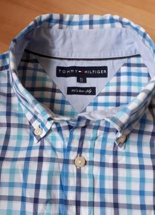 Рубашка tommy hilfiger короткий рукав