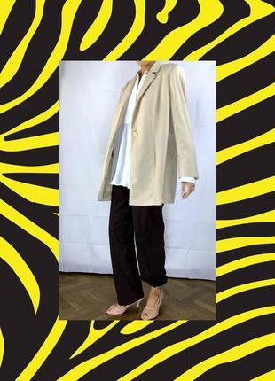 Айвори пиджак оверсайз жакет обьемный куртка