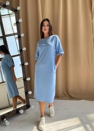 Платье футболка оверсайз👌 тренд сезона 👌
