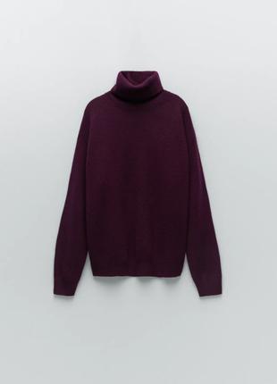 Кашемировый свитер от бренда zara