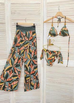 Штани брюки кюлоти пляжні штани women'secret іспанія