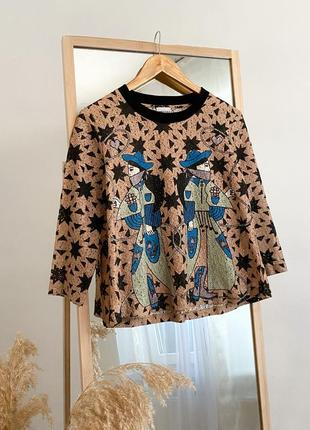Шикарная блуза из кружева bimba y lola