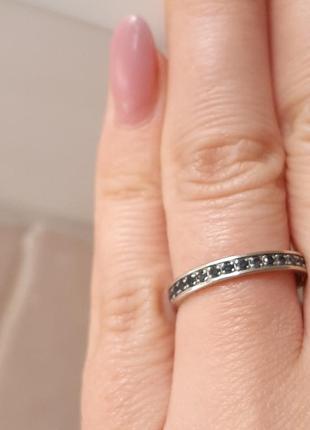 Золотое кольцо с сапфирами дорожка 585 проба