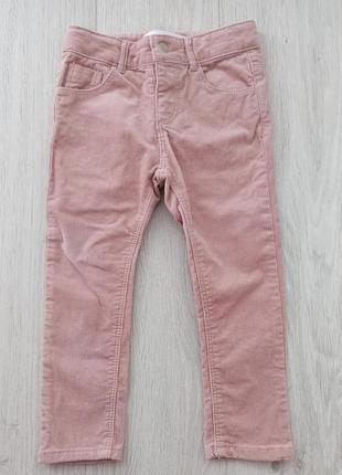 Вельветовые штаны zara